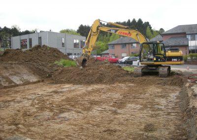 Uitgraven oprit - Grondwerken Jennes Herselt