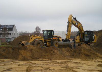 Kelder uitgraven - Grondwerken Jennes Herselt